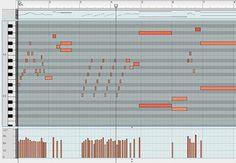 MIDI piano roll - extreme TUBS