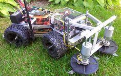 THP Semifinalist: A Robotic Lawn Mower   Hackaday