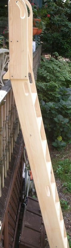 Loft Ladder; Library Ladder