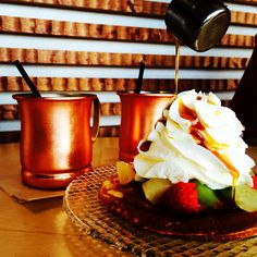 Pancakes at Furano Delice