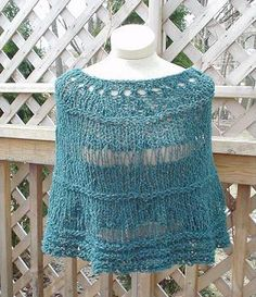 View the free Pepper Poncho Free Knitting Pattern from the Daily Knitter. Also see free knitting patterns, knitted hat patterns, and easy knitting pat Poncho Knitting Patterns, Shawl Patterns, Knitted Poncho, Easy Knitting, Knitting Yarn, Knitting For Charity, Yarn Shop, Knit Or Crochet, Pepper