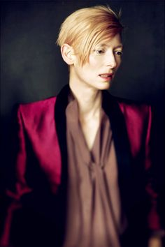 Tilda Swinton. Sometimes actress, all the time magical sea creature.