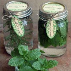 Herb-infused Vodka