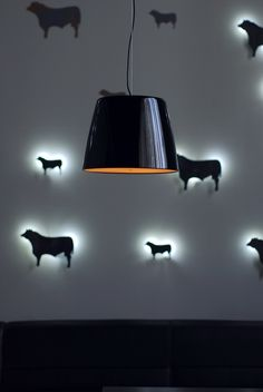 Beef Meat and wine restaurant. #light #decorate