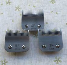 4F + 5F + 7F lâmina clipper Cão caber a maioria Andis e clippers Oster Profissional(China (Mainland))