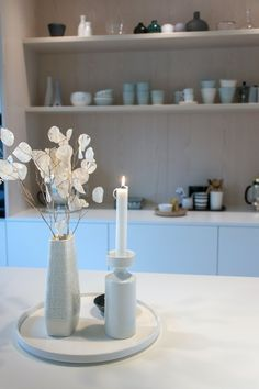 Kjøkkenet vårt – Villafunkis.no Buffet, Table Decorations, Furniture, Home Decor, Modern, Decoration Home, Room Decor, Home Furnishings, Home Interior Design
