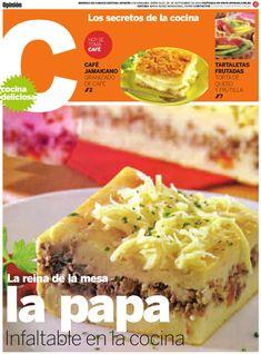 Revista Cocina 29 septiembre 2010 Opinion, diario de circulacion nacional