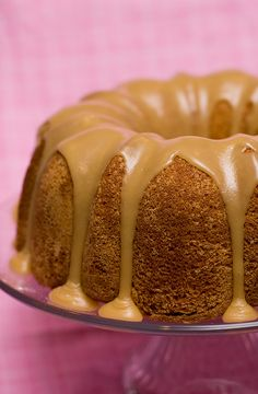 Buttermilk Cake with Caramel Icing - Taste and Tell