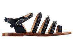 Tendencia sandalias planas de primavera verano 2013: Chanel