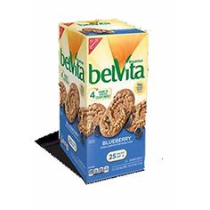 Belvita Blueberry Breakfast Biscuits 25 Count -- Want to know more, click on the image. Note: It's an affiliate link to Amazon.