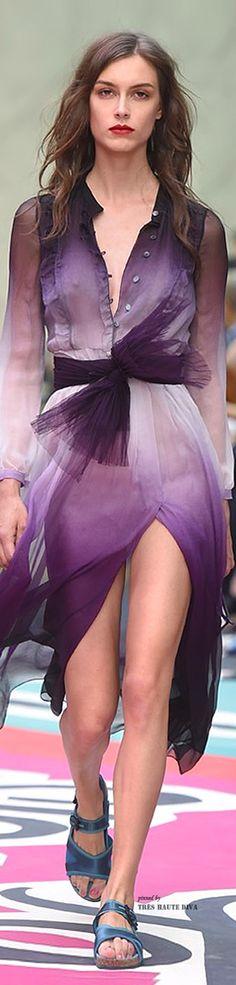 Farb-und Stilberatung mit www.farben-reich.com - LFW Burberry Prorsum Spring Summer 2015 | The House of Beccaria~