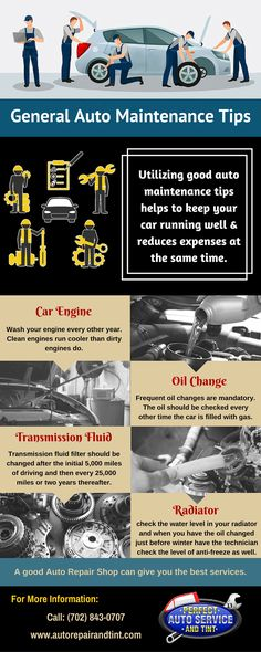 General Automotive Maintenance Tips