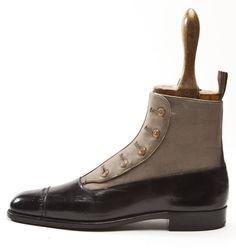 Vintage Foster _ Son Cloth Leg Button Boot - Button Boots Guide — Gentleman's Gazette