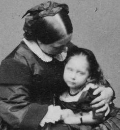 Queen VIctoria with Princess Beatrice