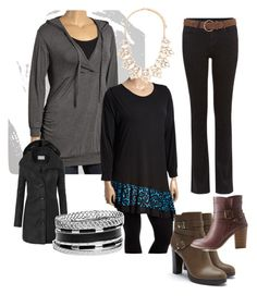 """""""Untitled #3"""" by wiepie on Polyvore featuring Forever 21, LE3NO, Charlotte Russe, GUESS and plus size clothing"""