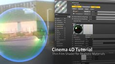 Cinema 4D R18 Thin Film Shader for More Realistic Materials - YouTube