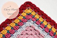MES FAVORIS TRICOT-CROCHET: Tuto crochet : Une jolie bordure de granny