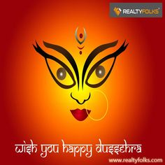 Happy Vijaya Dashami to all..!! Vijayadashami the Day of Victory, shall bring you Success, Joy and Happiness. #RealtyFolks #RealEstate #Vijayadashami #Dussehra #Dasara