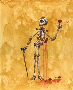 Day of the Dead Art -- A Rose for the Lady by David Lozeau | Flickr - Photo Sharing!