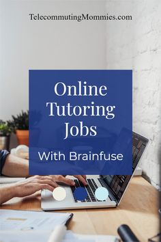 Work at home jobs with Brainfuse. Online jobs working as a tutor. Great remote position for teachers. Cash From Home, Earn Money From Home, Way To Make Money, Work From Home Business, Work From Home Moms, Home Tutors, Need A Job, Legitimate Work From Home, Flexible Working