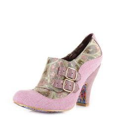 NEW IRREGULAR CHOICE *WANDA'S/WADAS WISH* PINK MULTI HEELS-Sz 5-6-7-8.5 | eBay