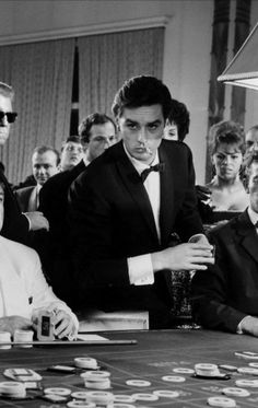 Alain Delon, Melodie en sous-sol (1963)