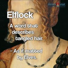 I call it Fuck knots and I get them every winter in my wild mane. Unusual Words, Weird Words, Rare Words, Unique Words, Great Words, New Words, Foreign Words, English Vocabulary Words, English Words
