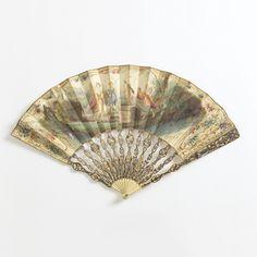 Pleated Fan (France), 1730–60