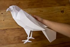Paper Aviary at St James's Market - London Exhibition on Behance