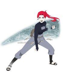 Ice ice baby by Naruto Fan Art, Naruto Oc, Anime Naruto, Naruto Shippuden, Boruto, Ajin Anime, Anime Oc, Anime Manga, Naruto Girls