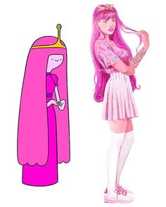 mil Me gusta, 278 comentarios - Tasia Cartoon As Anime, Cartoon Art, Cartoon Memes, Cartoon Drawings, Cute Drawings, Evvi Art, Cartoon Characters As Humans, Marceline And Princess Bubblegum, Princess Bubblegum Cosplay