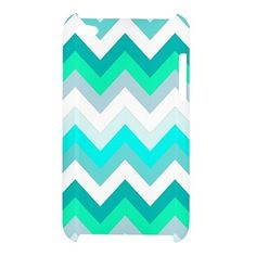 Tiffany Chevron Pattern iPod Touch 4 4g 4th Case Cover