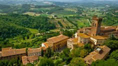 San Miniato, Italy is a picturesque hill town that is best known for its delicious white truffles. © akqjts – fotolia