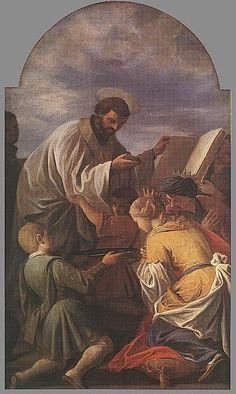 Andrea Pozzo - Saint Francis Xavier - WGA18362