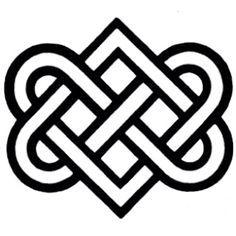 Irish eternal love symbol/Love this symbol - Want it on a bracelet