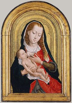 Virgin and Child, last quarter of 15th century Master of the Legend of Saint Ursula (Netherlandish, active late 15th century)