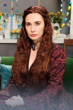 Game of Thrones' Melisandre Makes For Quite the Depressing Baby Shower Guest