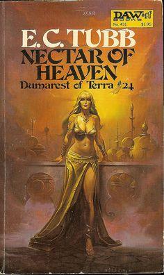Dumarest Saga Book 24 - Nectar of Heaven - E.C. Tubb - cover artist Ken W. Kelly - 1st publication 1st edition by Cadwalader Ringgold, via Flickr