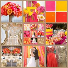 Bright & Happy Wedding colors