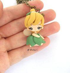 Tinkerbell necklace by elvira-creations on deviantART
