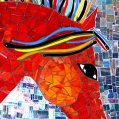 Glass Mosaic 2-Day Workshop | June 24 - 25 (Sat & Sun) | 10a - 3p | Includes all materials | Instructor Carri Gunn |  Learn how to use specialized tools to score, cut, and shape glass for mosaics and what types of glass can be used in a variety of applications. Time-tested adhesives, substrates, and applications for glass mosaics are presented. | Click on image for info and register!