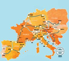 Hop-On Hop-Off Europe | Busabout