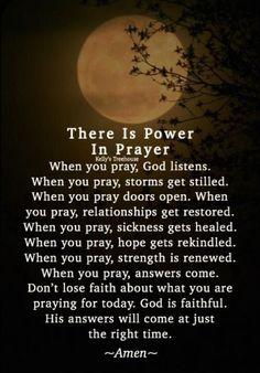 The power of prayer 🙏💚 Prayer Scriptures, Bible Prayers, Faith Prayer, God Prayer, Power Of Prayer, Bible Verses Quotes, Faith Quotes, Son Quotes, Quotes On Prayer