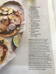 Chile Rubbed Pork Tostados