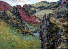 Landscape near Saint-Julien-des-Chazes - Armand Guillaumin