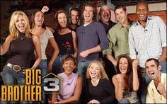 Remember when Big Brother had the losers eating peanut butter instead of slop? Big Brother 3 (U.) - Daniel Reyes, what a player! Lisa Donohoe won though. Big Brother Tv Show, Big Brother Us, Big Brother Contestants, One More Day, Crazy Girls, Months In A Year, Muscle Men, Reality Tv, Season 3
