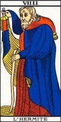 Significado de la carta El ermitaño en el Tarot