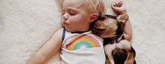 Jessica Shyba captures photographs of son Beau napping with their puppy. (GMA)