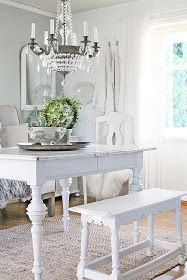 White Painted Furniture - via VIBEKE DESIGN: God helg !