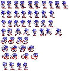 Sprite Sonic Sprite Archive Sonic The Hedgehog